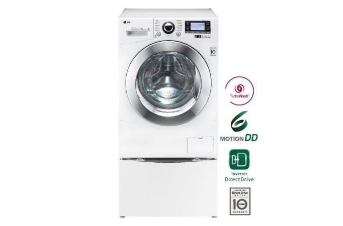 La primera lavadora que hace 2 coladas a la vez